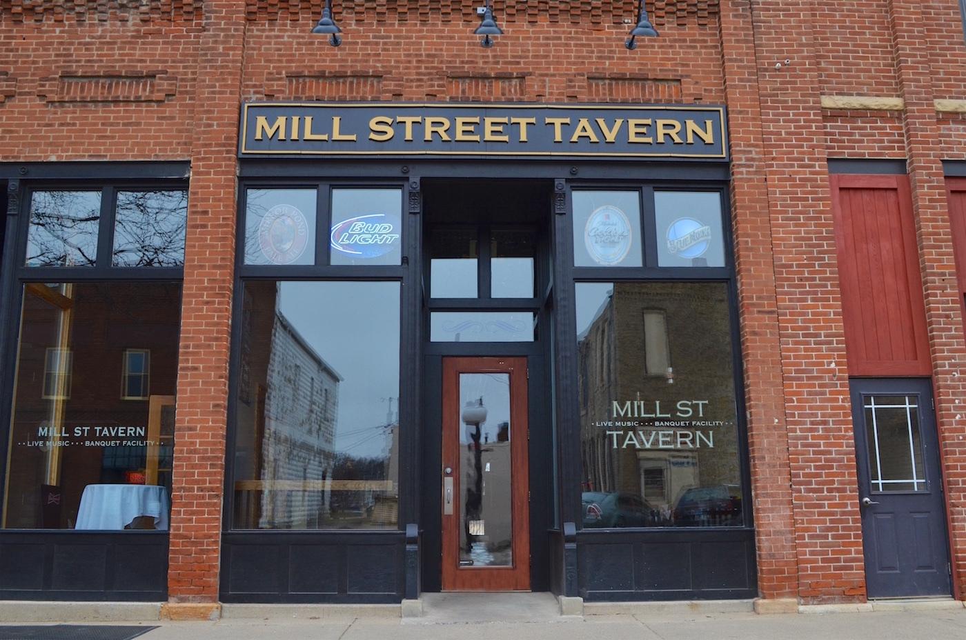 Mill Street Tavern storefront