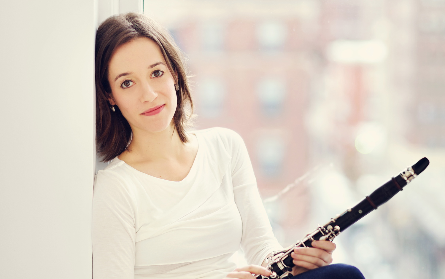 Clarinetist Romie de Guise-Langlois, performing on WITHOUT WORDS, April 14 & 15.