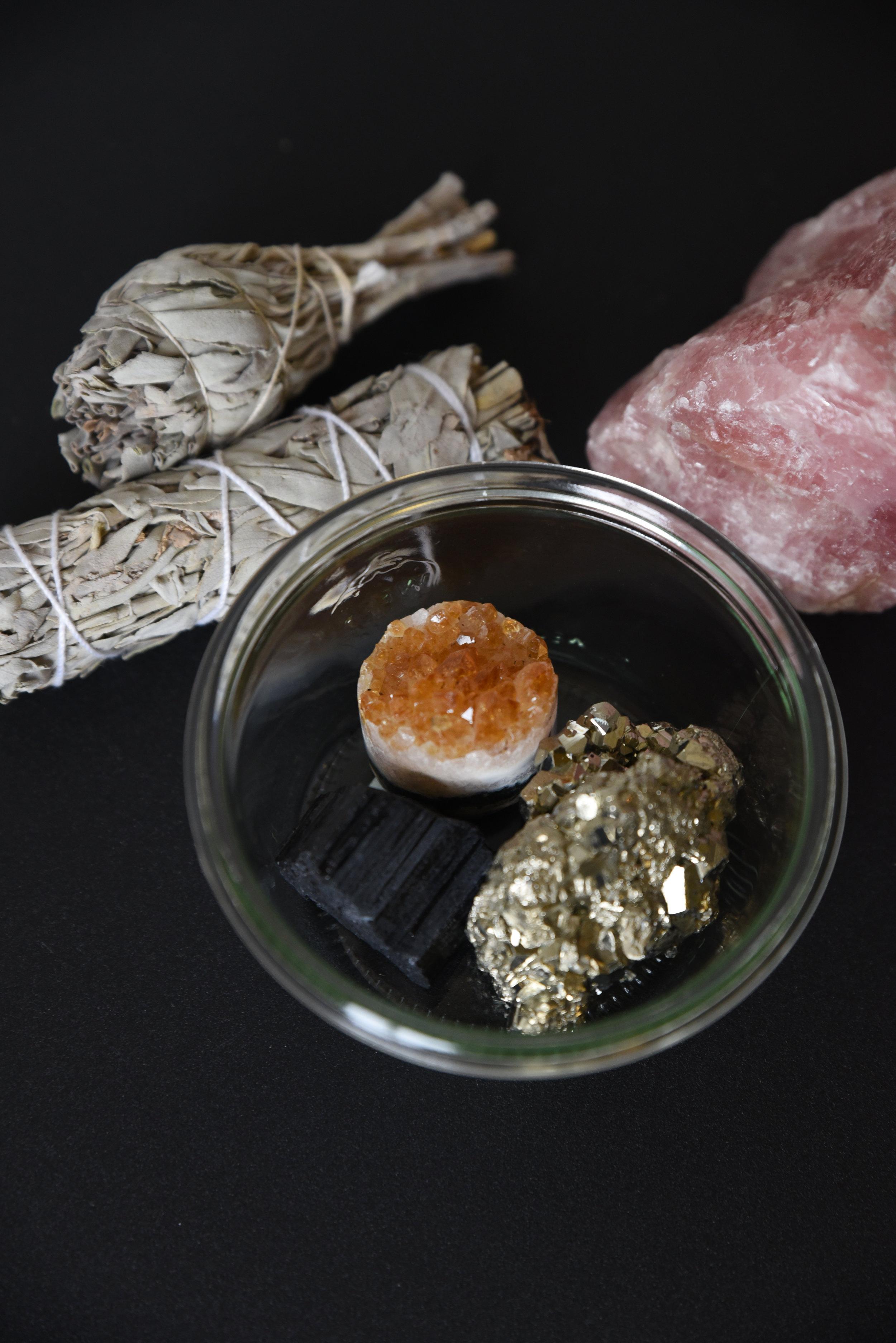 Healing crystals gift