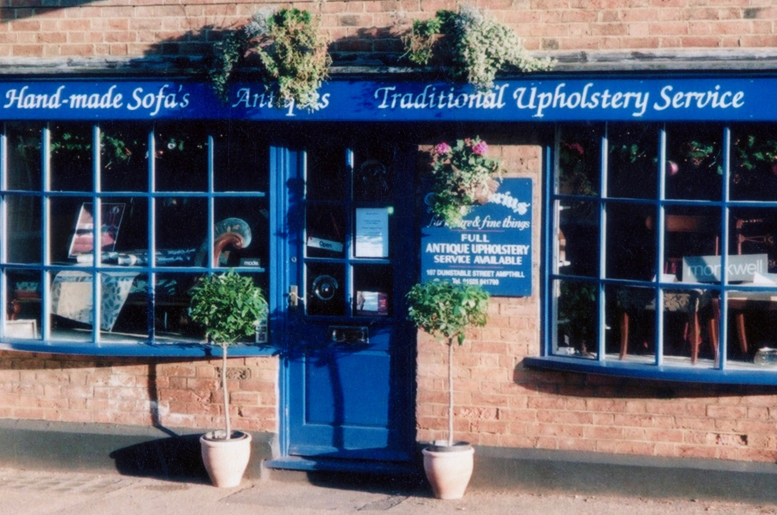 Antiquarius, Ampthill, Upholstery and Antique Furniture.