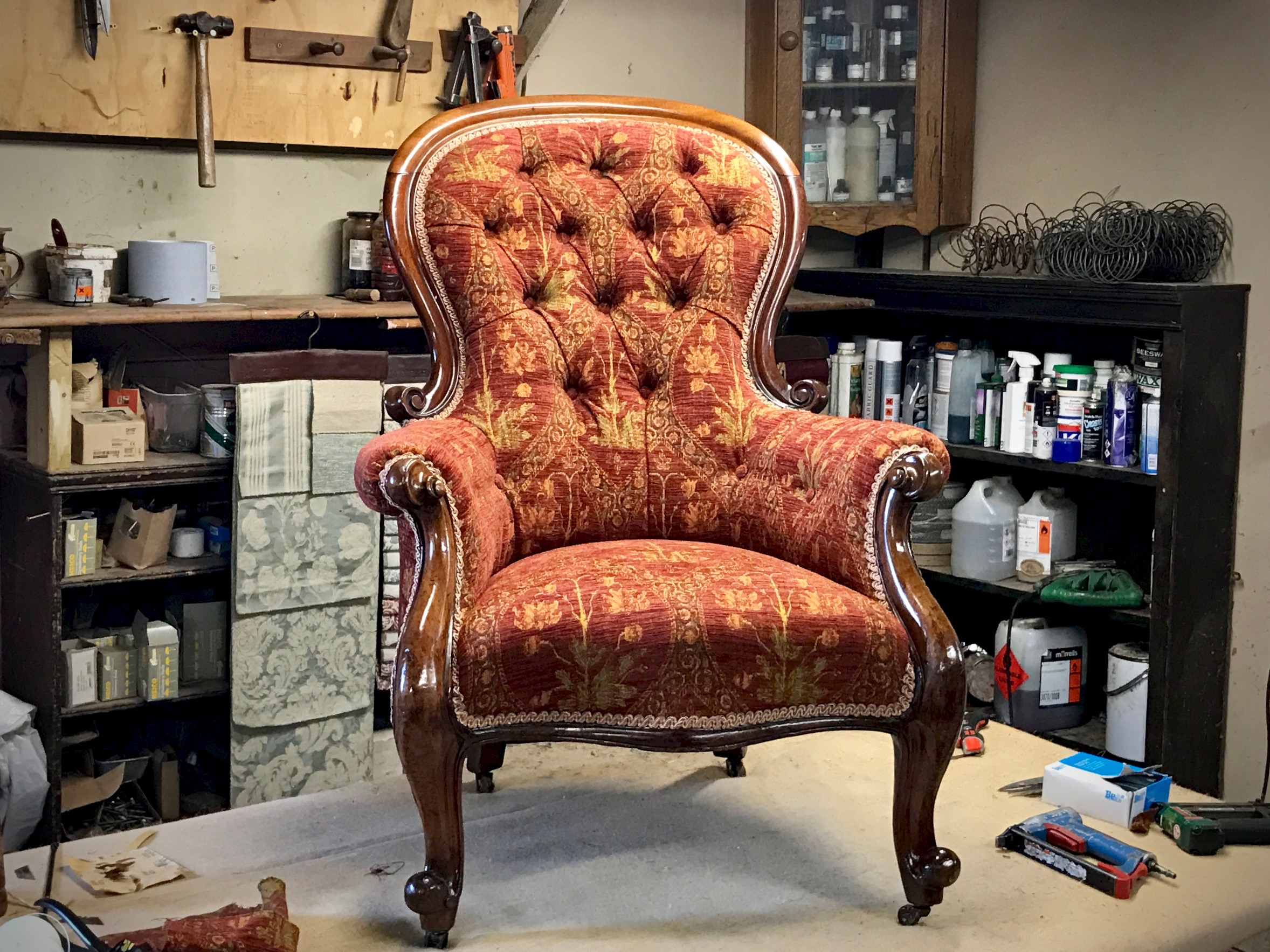Phoenix Upholstery, Bedford, Upholstery, - Example 2 (After)