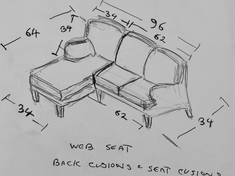 Phoenix Upholstery, Bedford, Bespoke Furniture, - Example 1