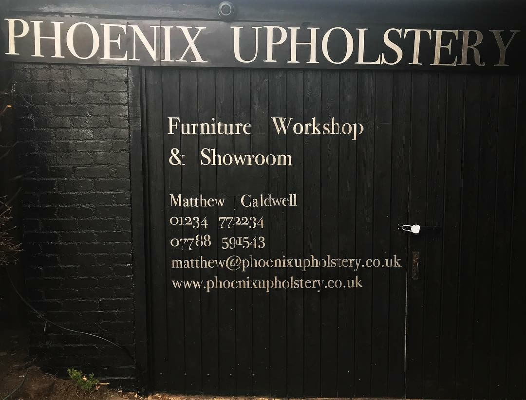 Phoenix Upholstery, Struttle End Farm, Oldways Road, Bedfordshire, MK44 2RH.