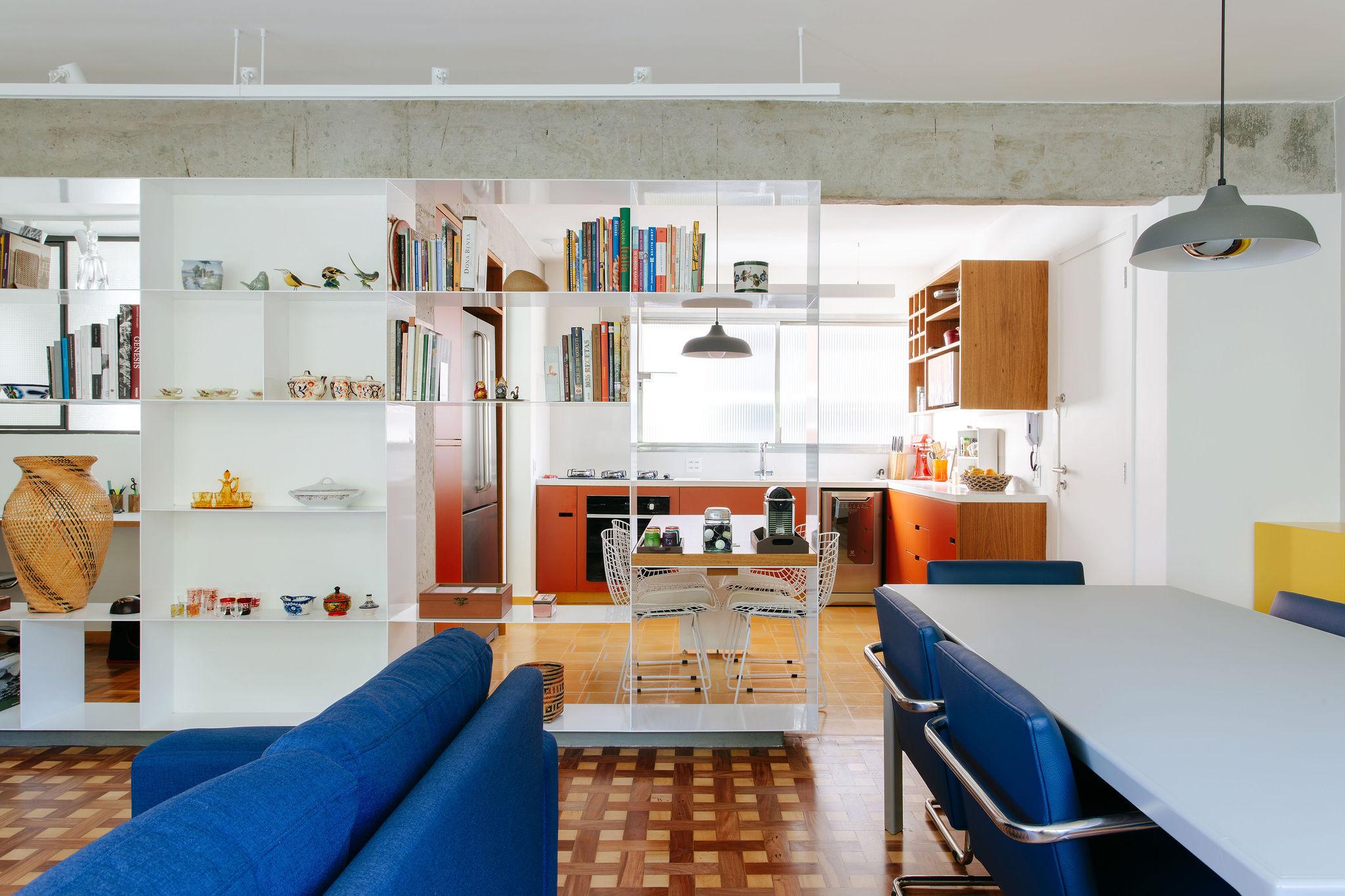 Reforma de apartamento com clima de casa em sp — Estudio Piloti Arquitetura  - Escritório de Arquitetura São Paulo - sp