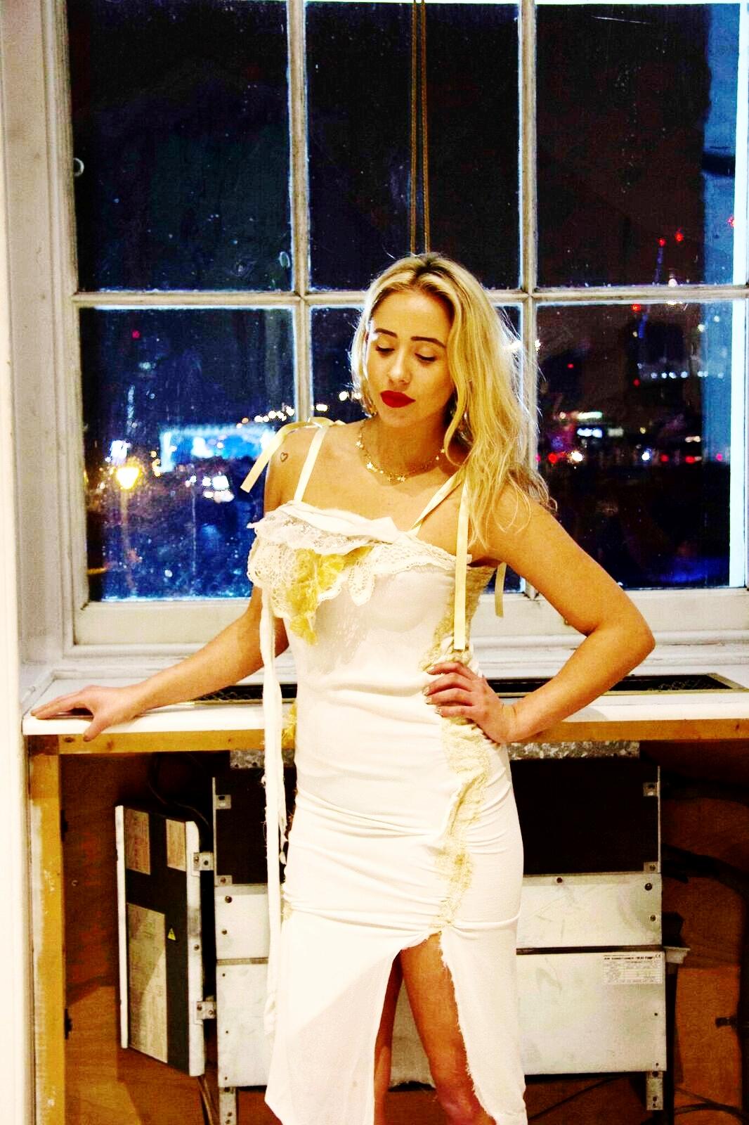 The Golden Goddess Dress - Limited Edition