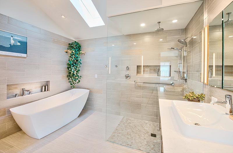 Bathroom Remodels - Most bathrooms are cramped and uncomfortable. A high quality bathroom can help you start every day off on the right foot. Imagine the difference to your morning routine when you feel energized and awake in a bright, inviting master bathroom.