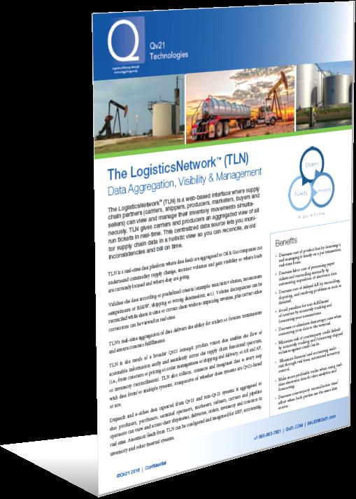 The LogisticsNetwork (TLN) Data Aggregation Platform