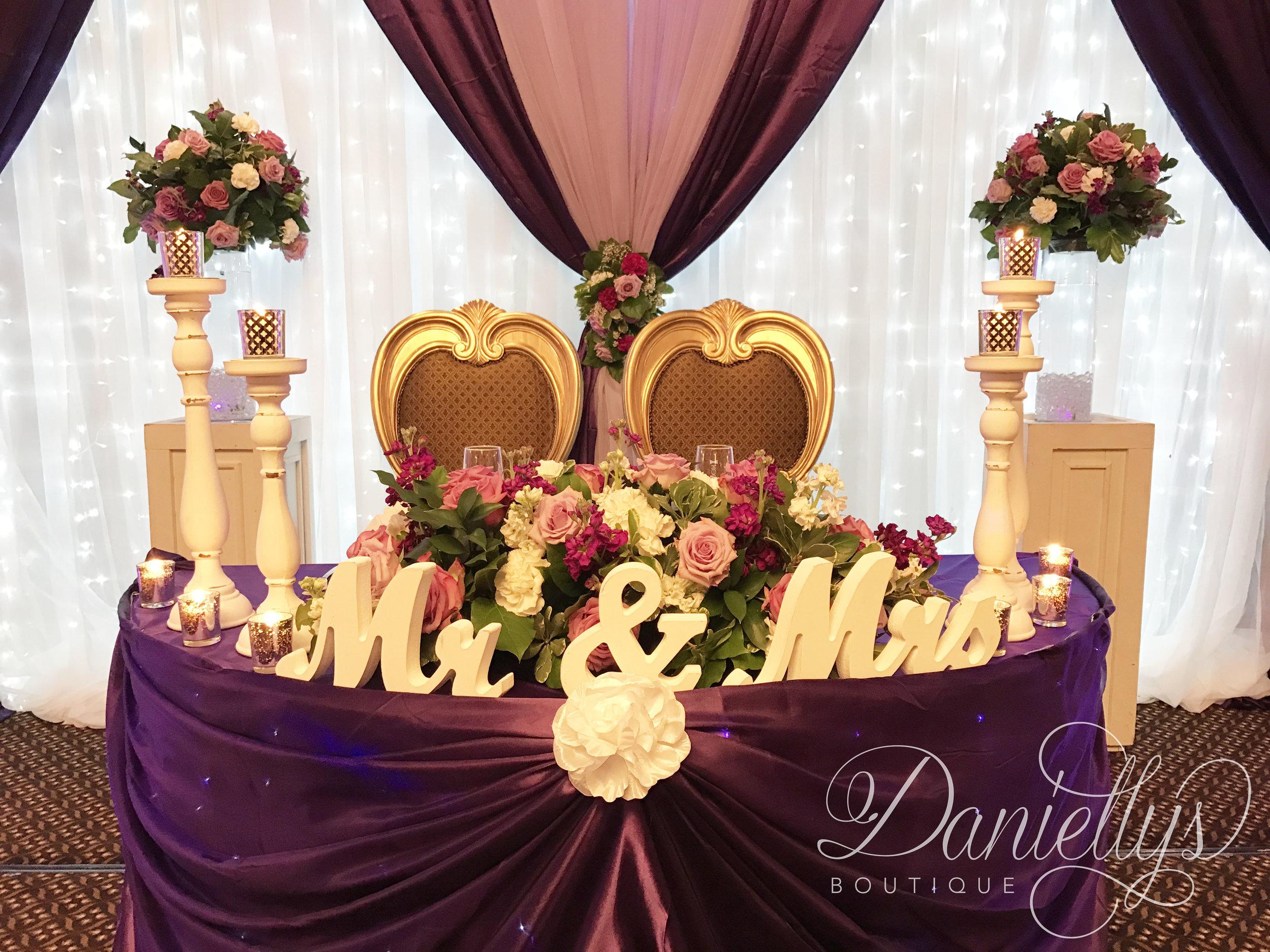 Purple & Lilac Wedding