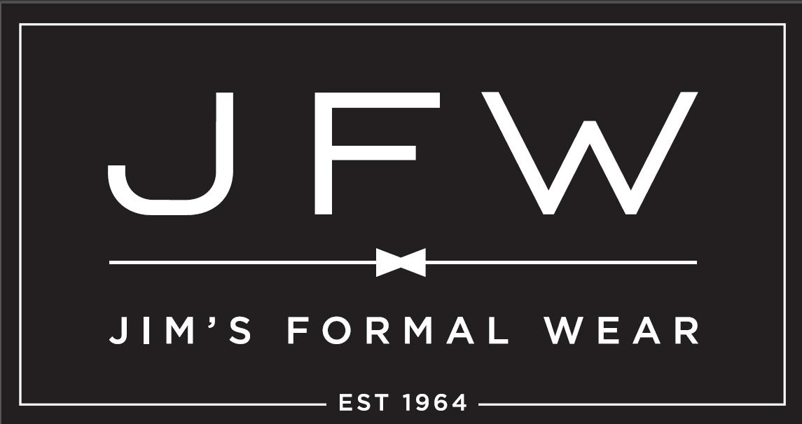 Jim's FOrmal Wear Logo