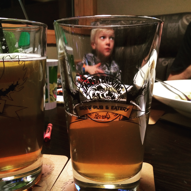Jasper Brewing beer - nomad yoga family
