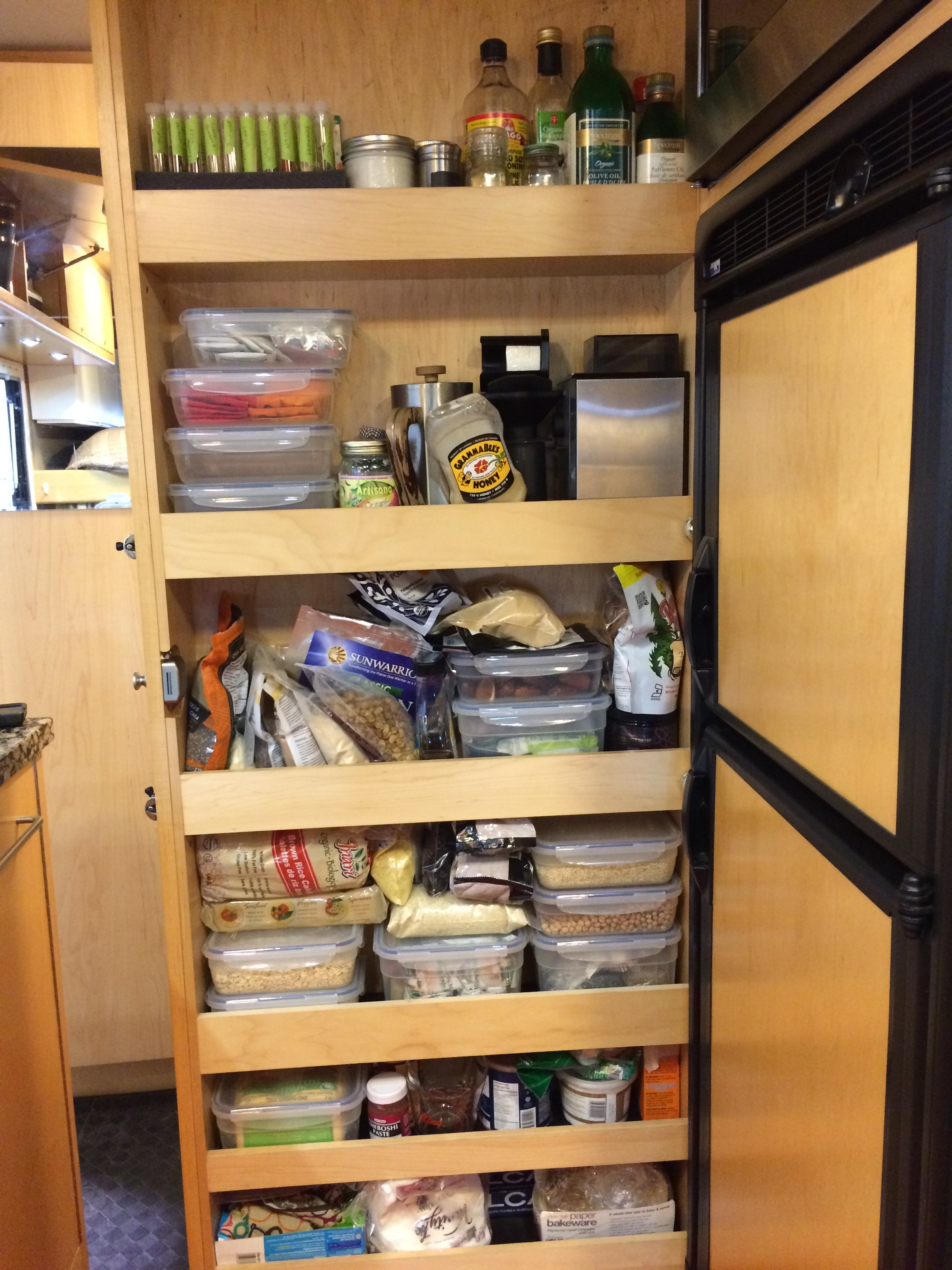 Our new pantry!
