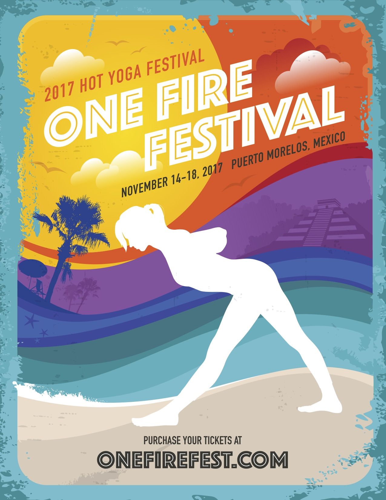 ONE FIRE HOT YOGA FESTIVAL - One Fire Fest is a hot yoga immersion: part-retreat, part-learning lab, part-all out party. It's also a transformative and inspiring experience for hot yoga lovers from all over the world. The One Fire experience includes classes, workshops, adventures, music, excursions, and healing arts.We'll be there as presenters running  2 workshops: Back to Basics (continuing education for hot yoga teachers) and a Yoga Business talk on best practices for selling in the yoga industry.November 14-18Click here to meet us there!