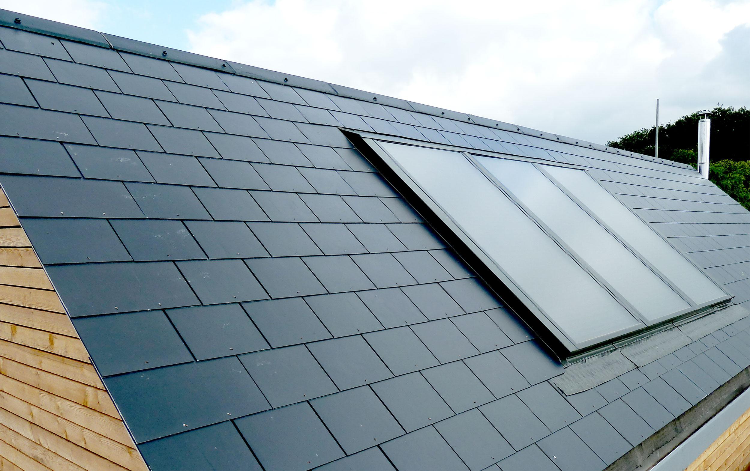 Larchwood dwelling modece architects suffolk bury st edmunds sustainable eco roof