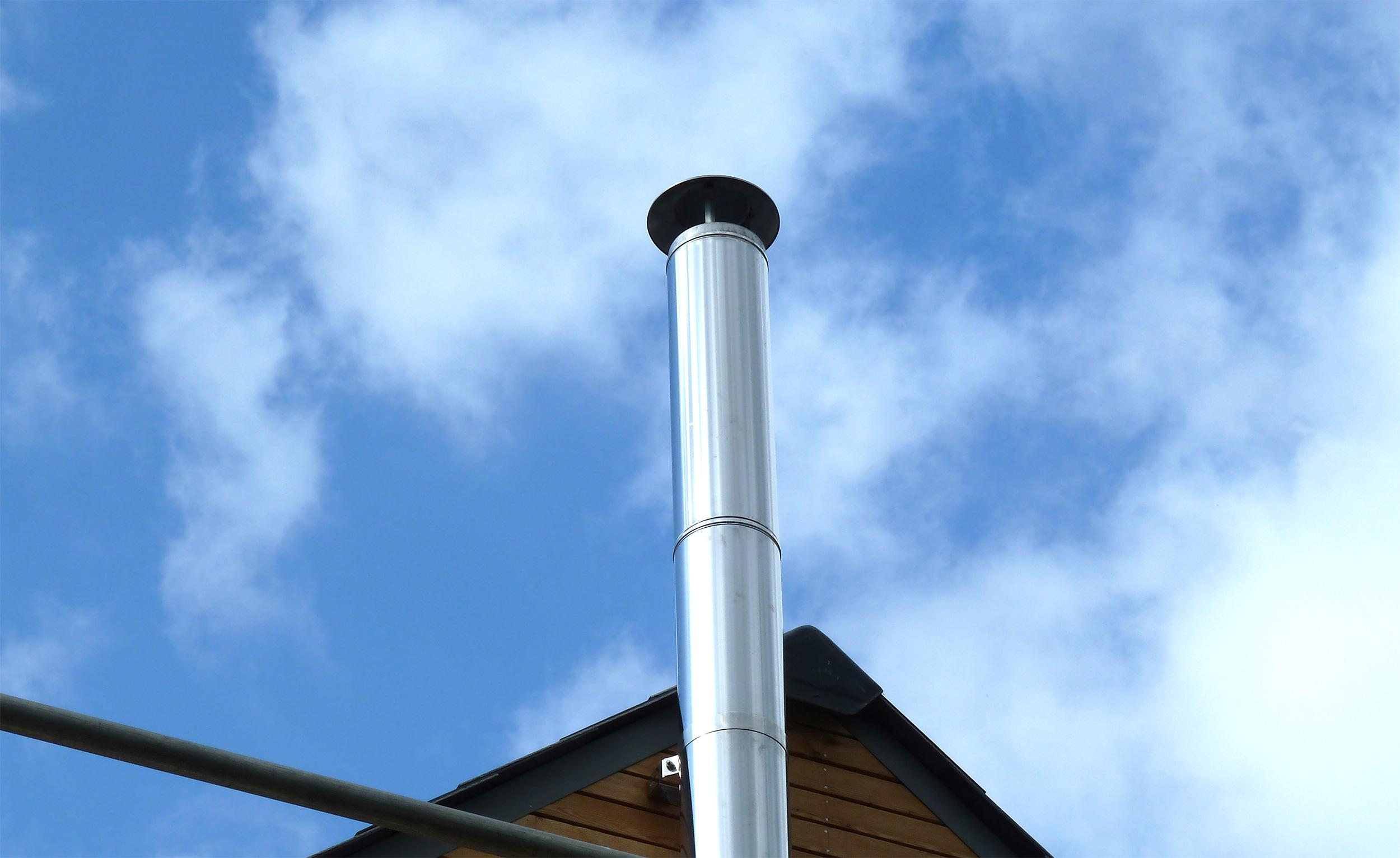 Larchwood dwelling modece architects suffolk bury st edmunds sustainable eco sky flue