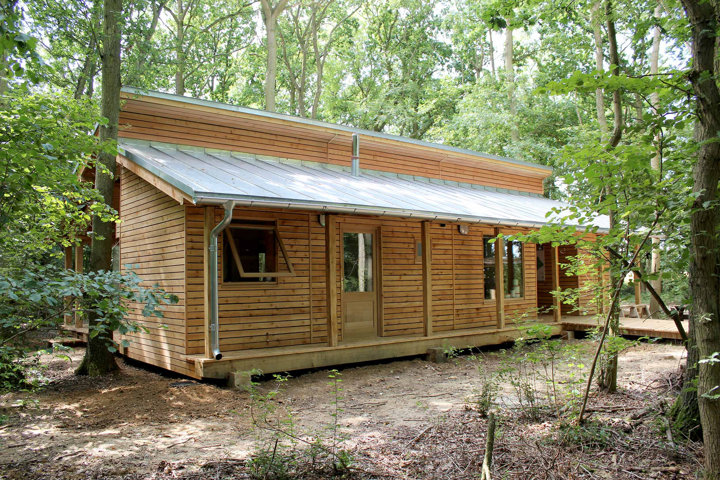 Bradfield woods visitor centre suffolk wildlife trust modece architects suffolk bury st edmunds sustainable eco