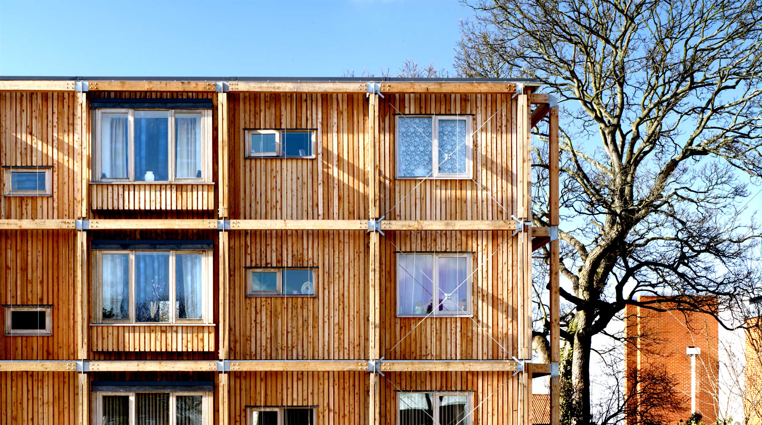 Kings Road Flats affordable social housing riba east award dwelling modece architects suffolk sustainable eco