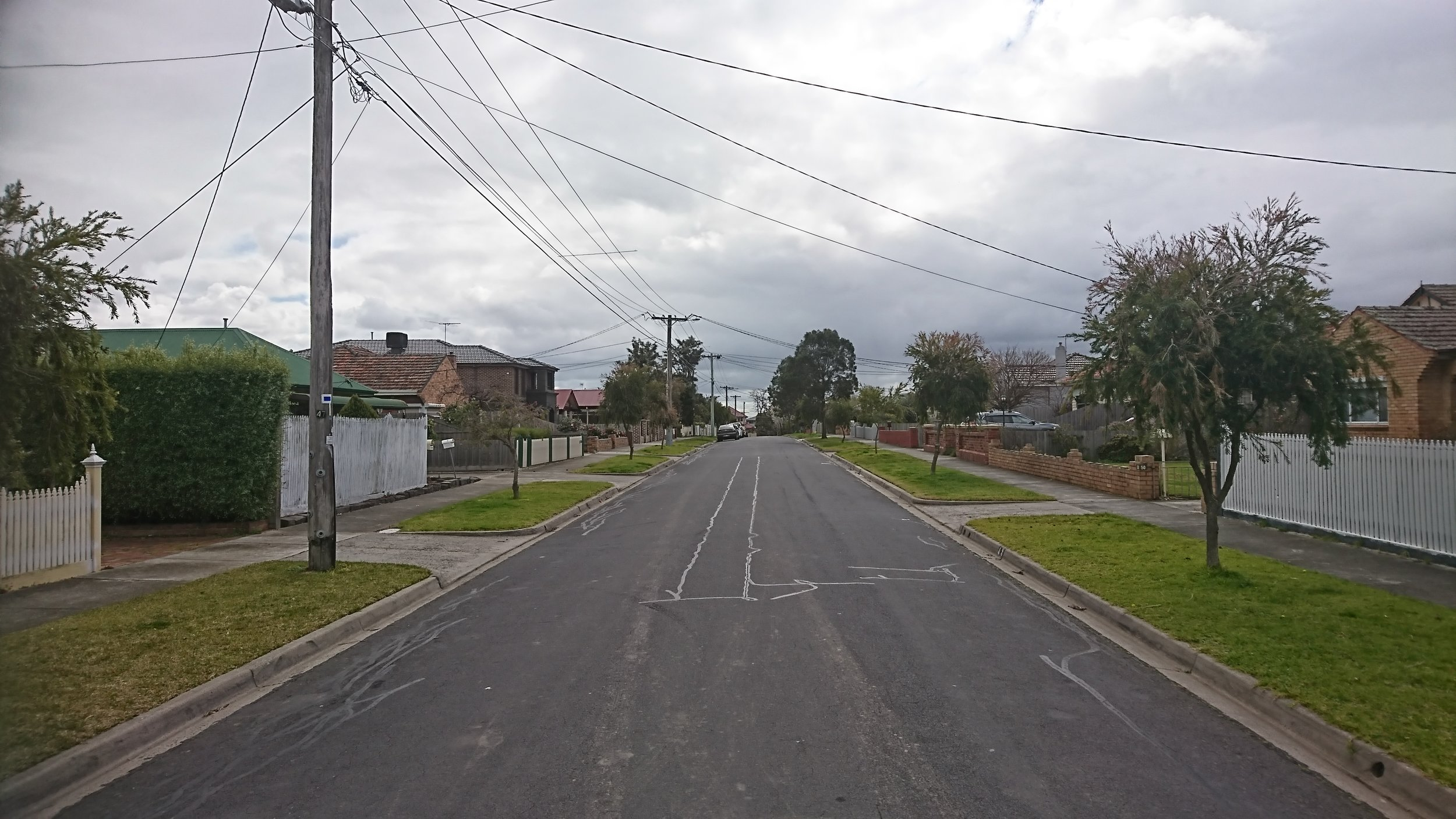 Our street...