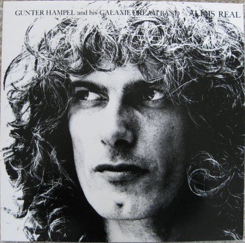 Gunter Hampel, back in the day, on the cover of one of his many albums.