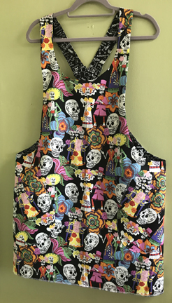 Reversible Aprons made to order for $39.00.