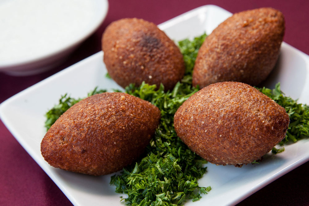 Fried Syrian Kibbeh