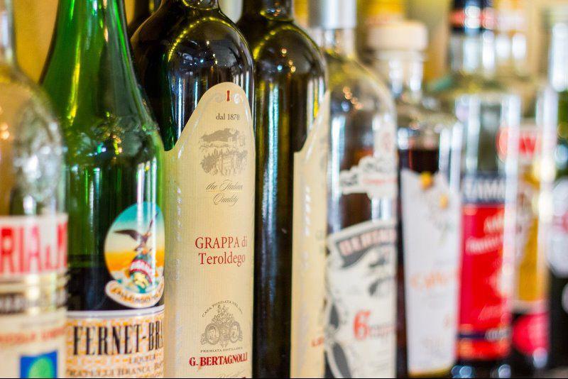 Finest Italian spirits