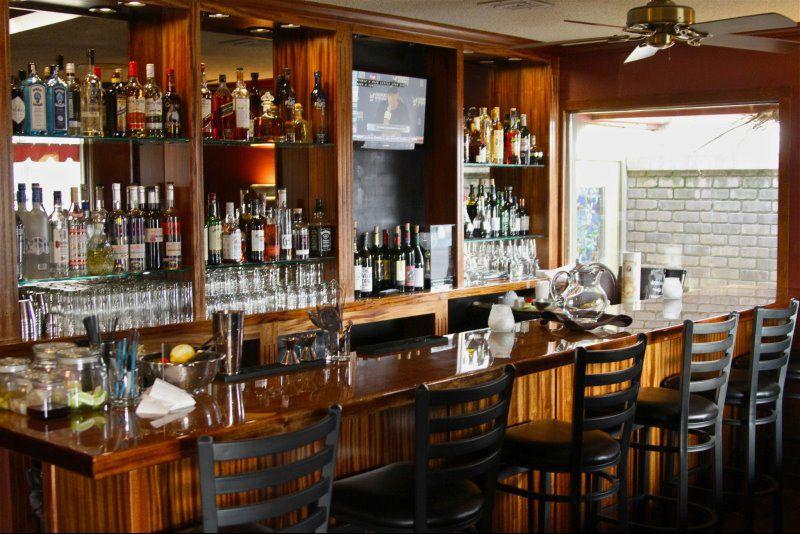 Our handmade bar