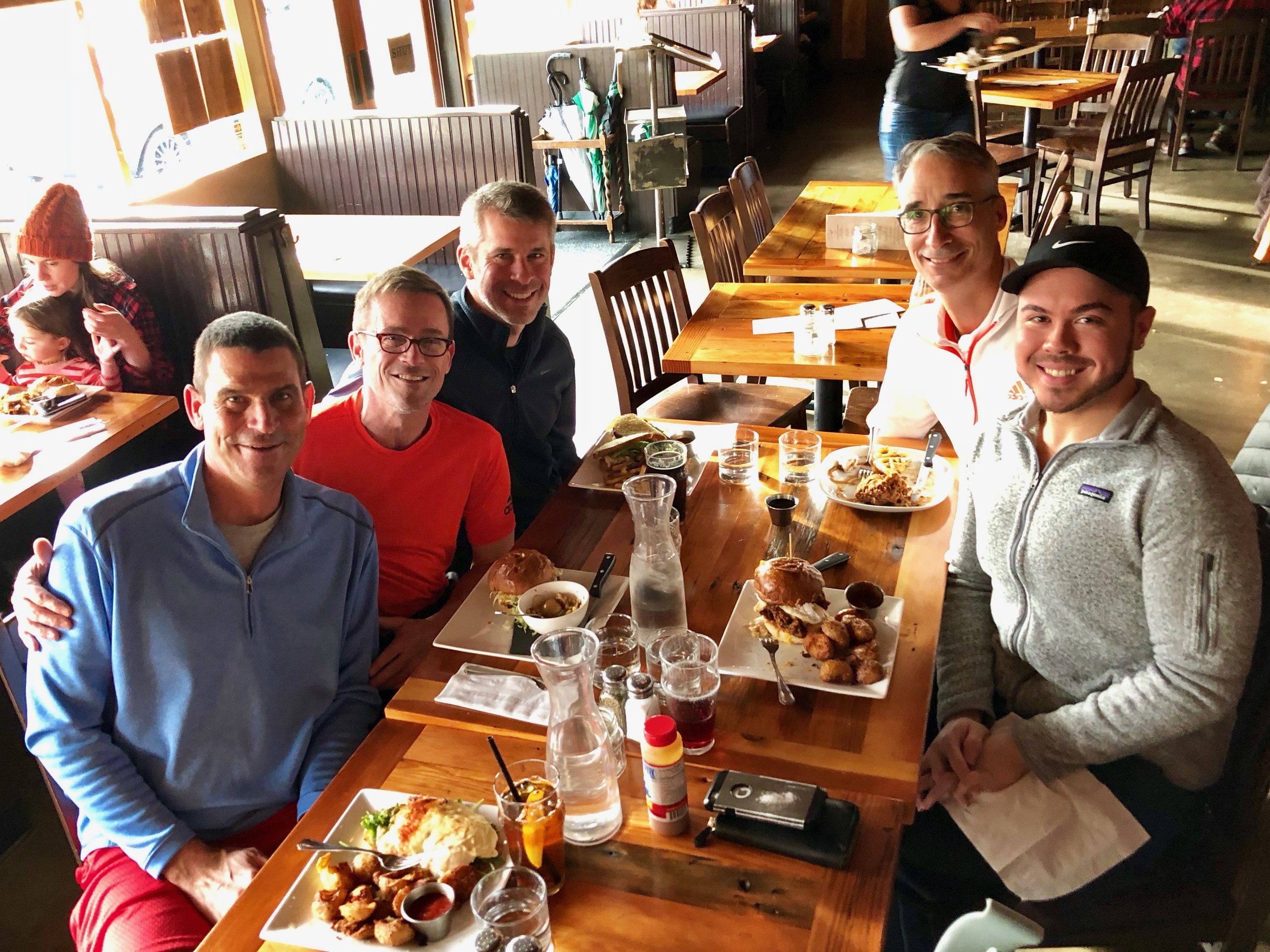 Lunch at Tabor Tavern 2017-12-17