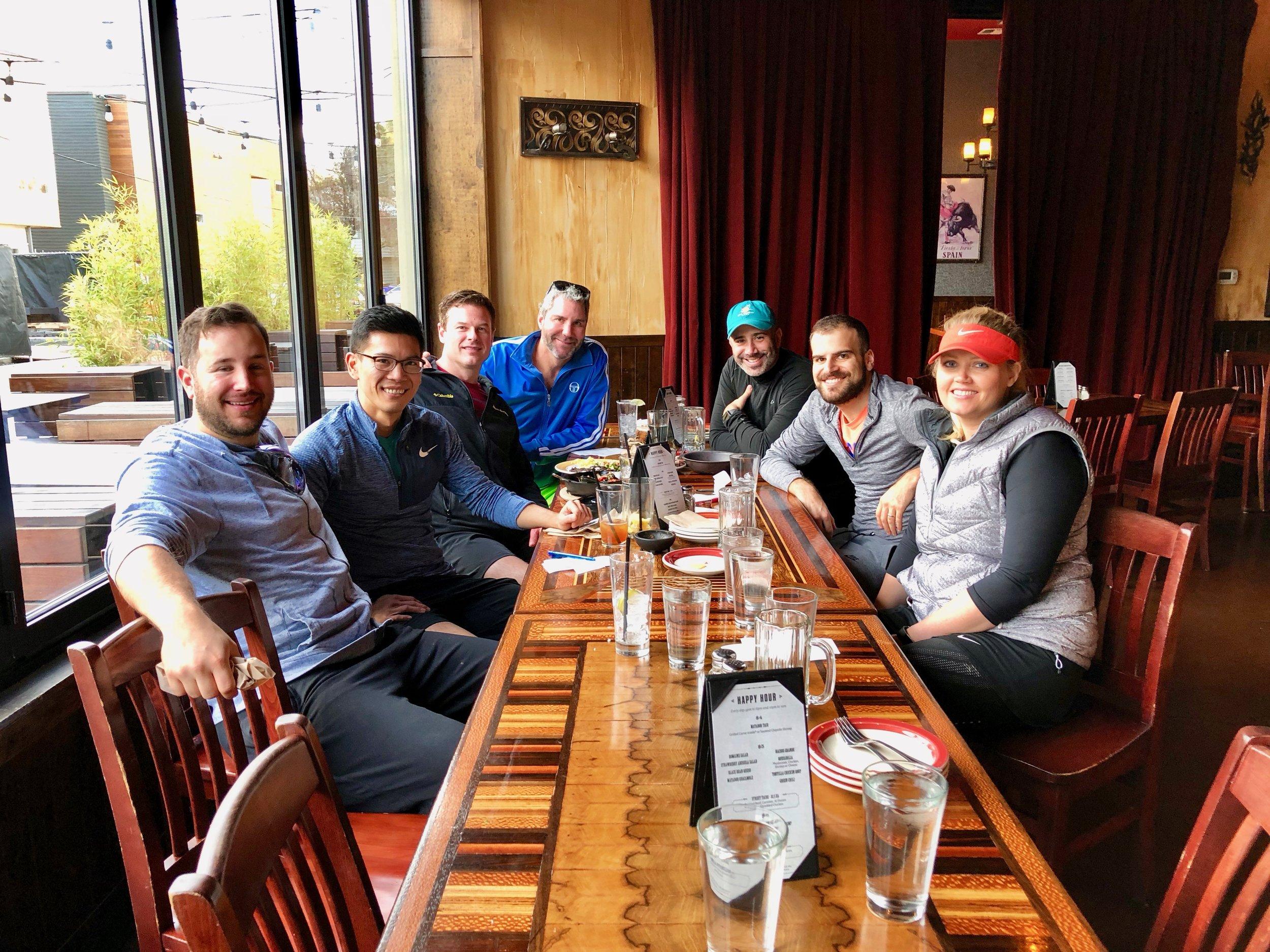 Lunch at Matador 2017-11-05