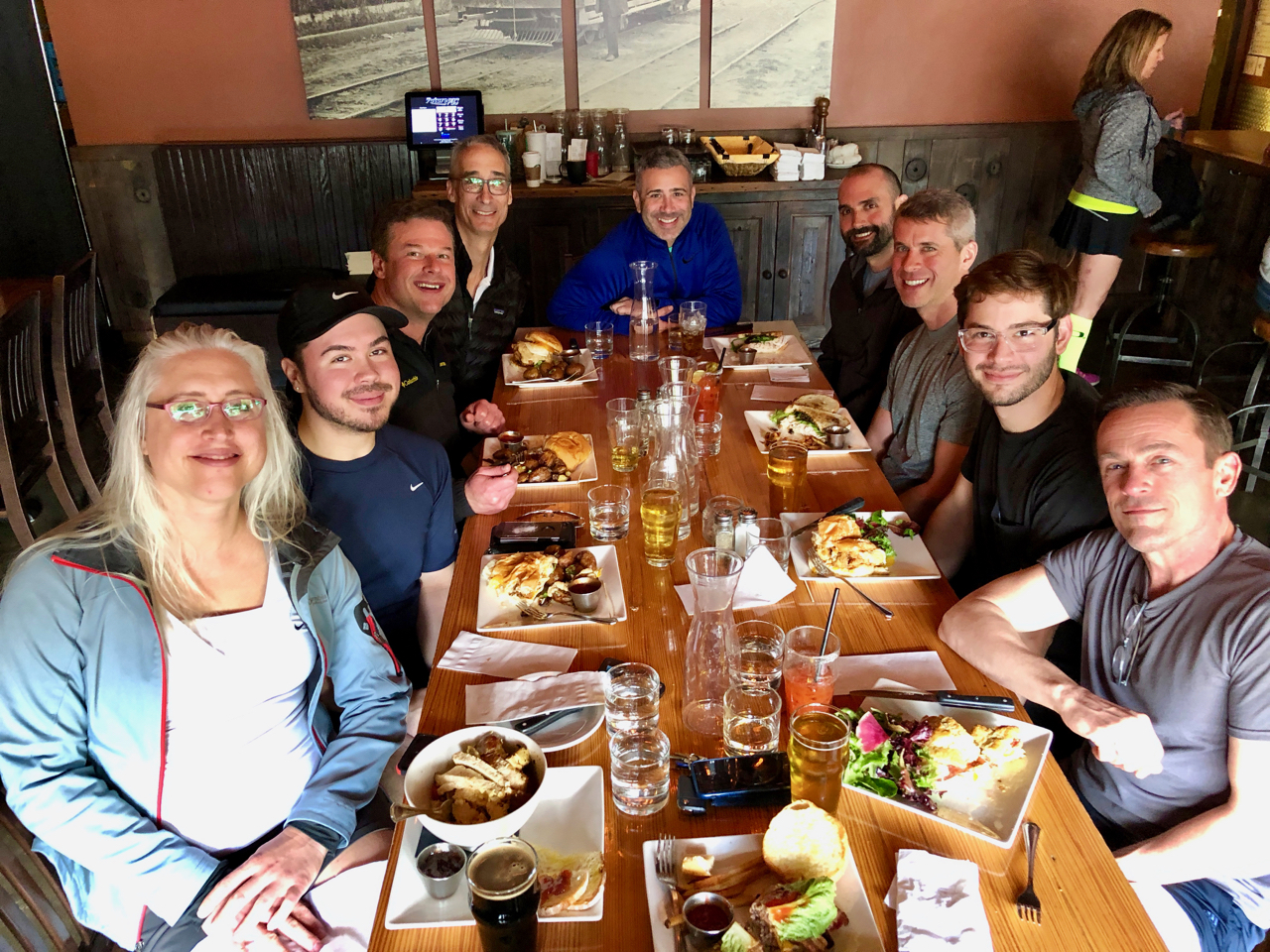 Lunch at Tabor Tavern 2018-04-29