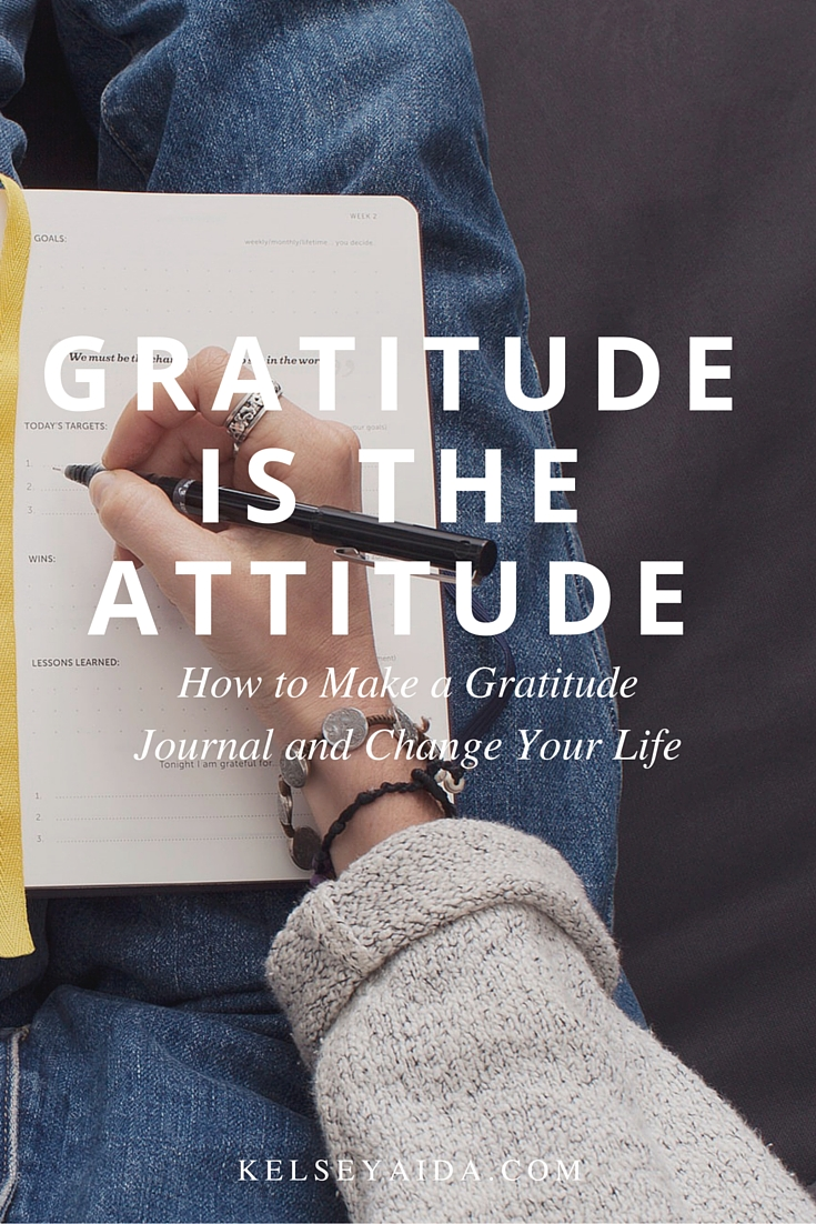How to Start a Gratitude Journal and Change Your Life