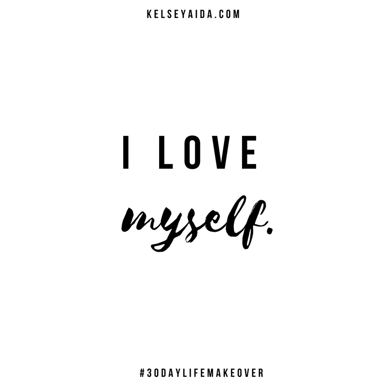 30-Day Life Makeover Challenge (30 Affirmations for Inner Peace and Self-Love)