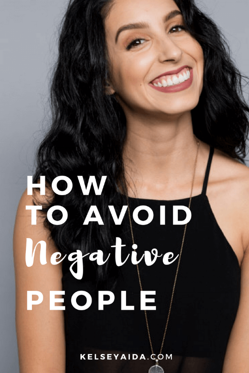 How to Avoid Negative People