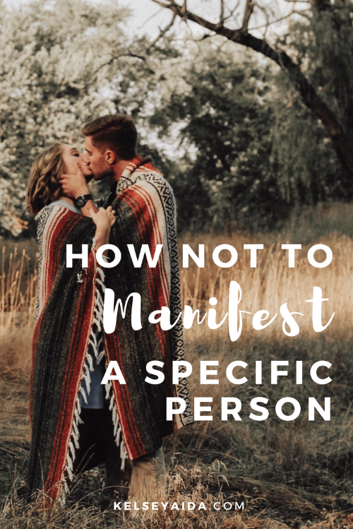 With specific love manifesting person a How to