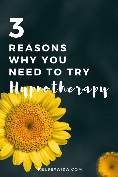 3 Reasons Why You Need to Try Hypnotherapy