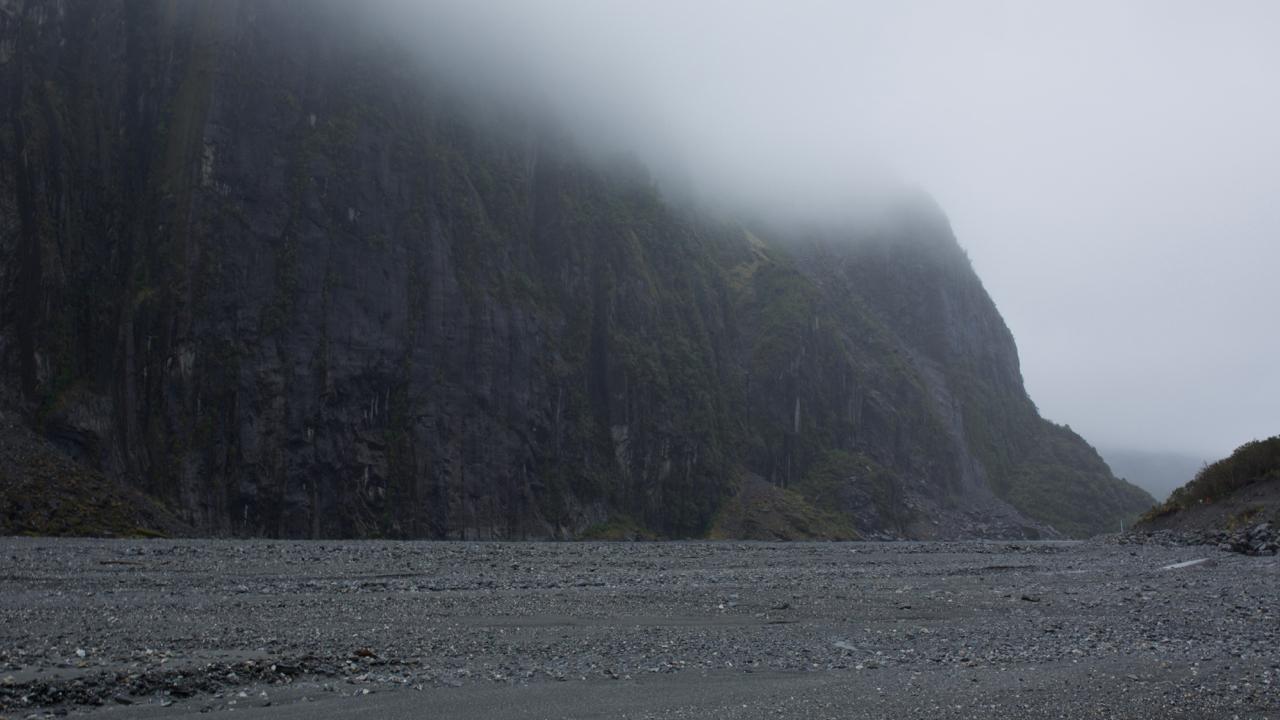 Glacial valley, Franz Josef, New Zealand 2014