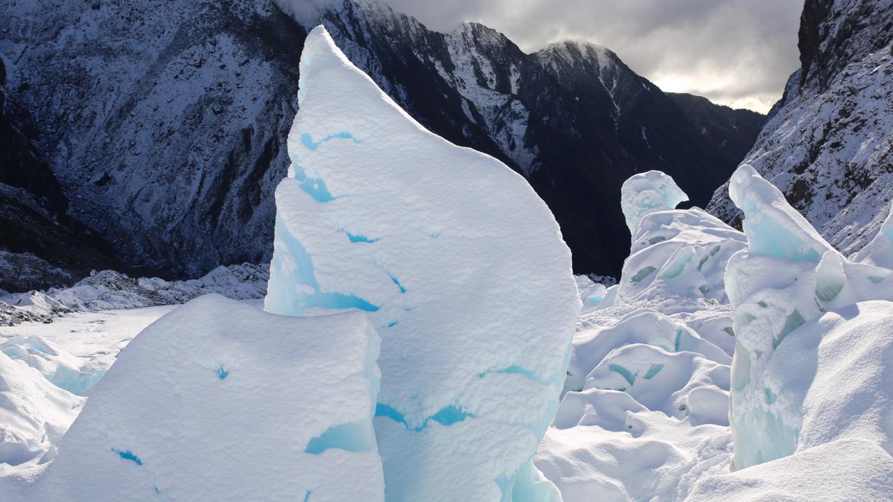On the glacier, Franz Josef, NZ 2014