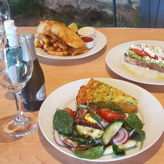 Seen our Autumn menu? We've got house battered fish with chips and tartare sauce. Try our smashed avocado with tomato, crumbled feta drizzled with olive oil and cracked pepper. Or how about the zucchini slice with garden salad and balsamic reduction dressing?