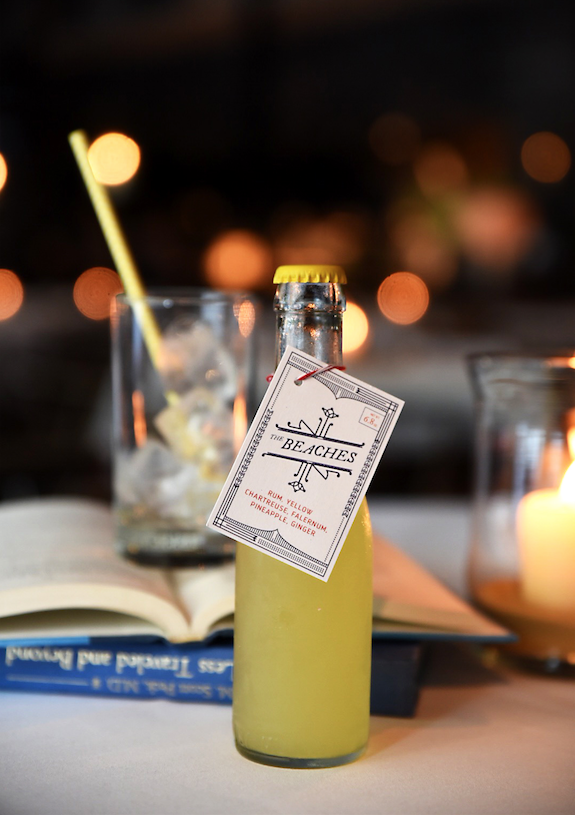 The Beaches house-bottled cocktail