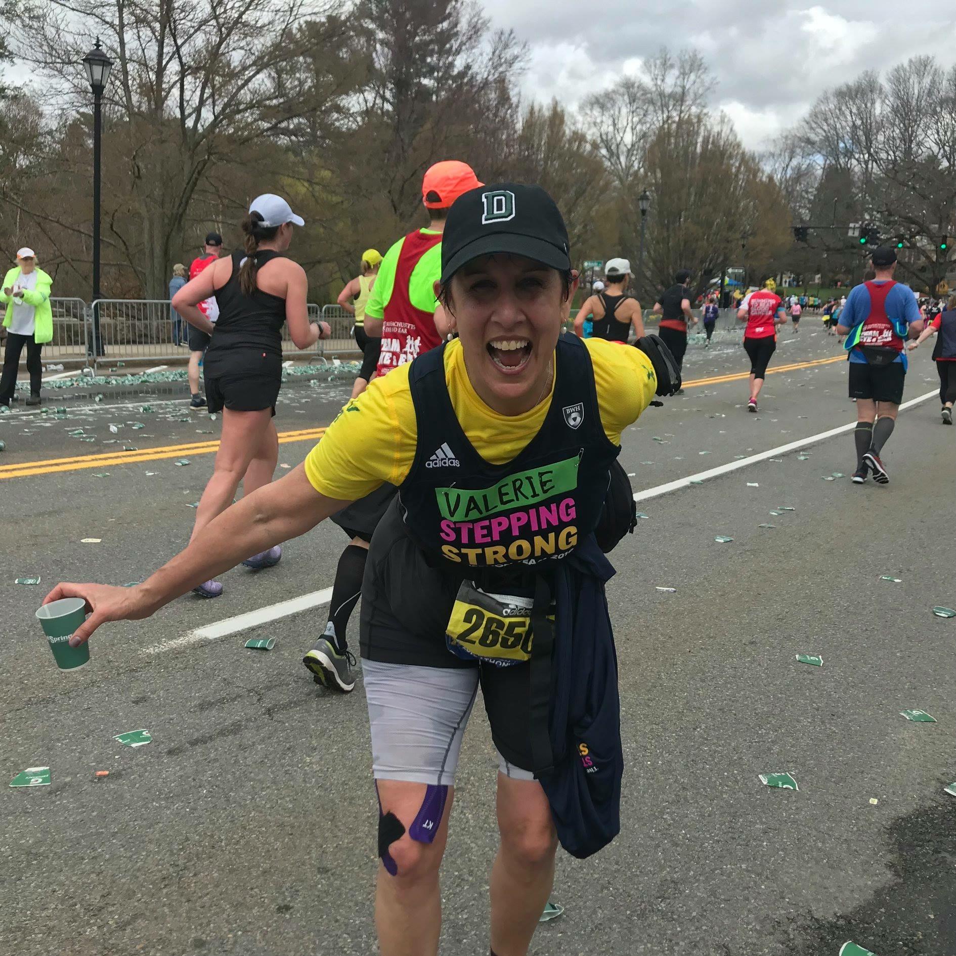 What a thrill! Running my 2nd Marathon-2019 B.A.A. Boston Marathon