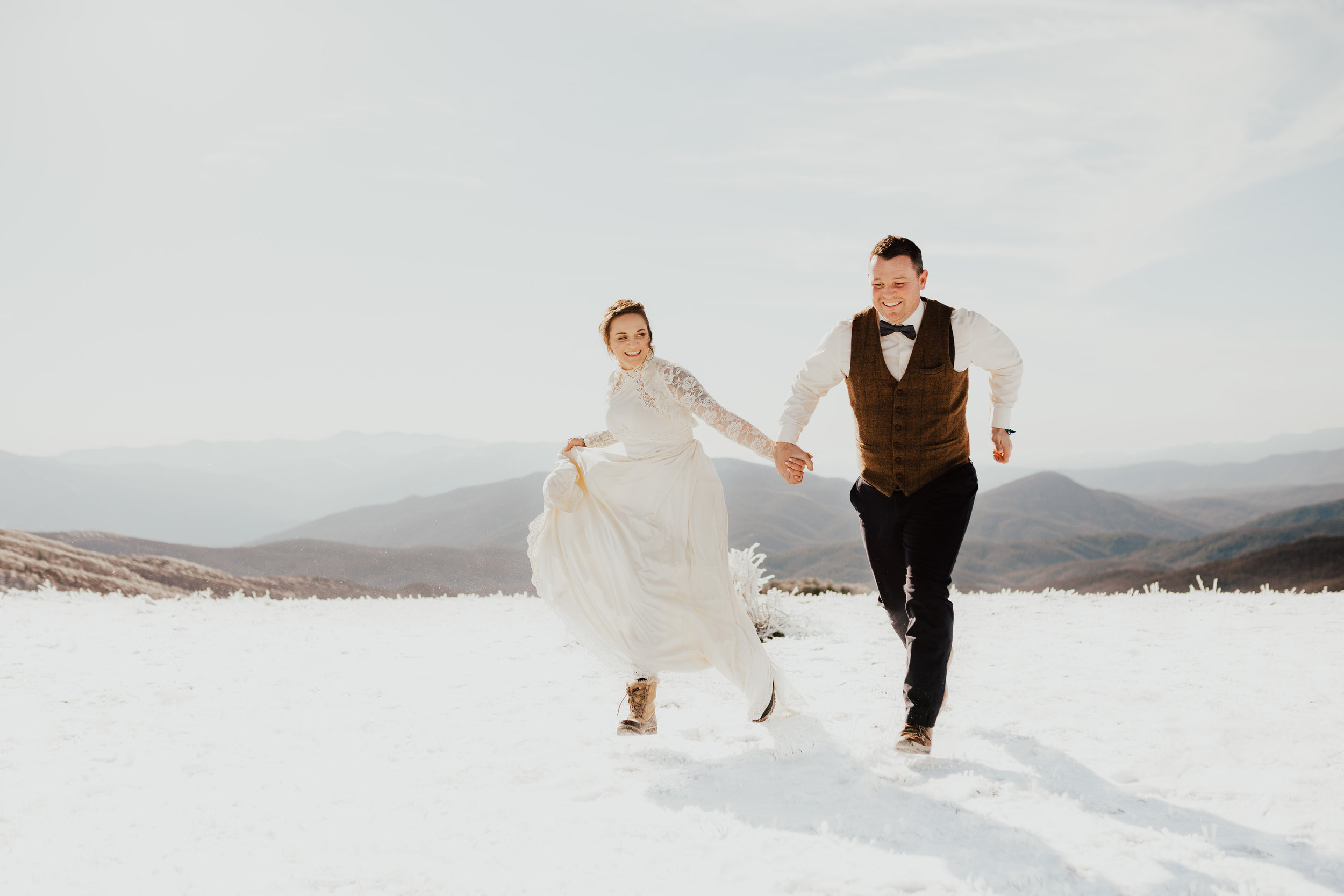 LATEST ON THE BLOG - Darren + Nata | Adventure Elopement in the Smoky Mountains, NC | (coming soon)