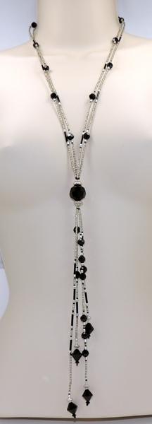 Fixed Rope Swarovski Crystal Necklace