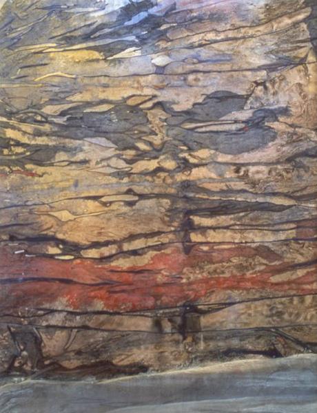 Earth Echo   27″x21″, watercolor