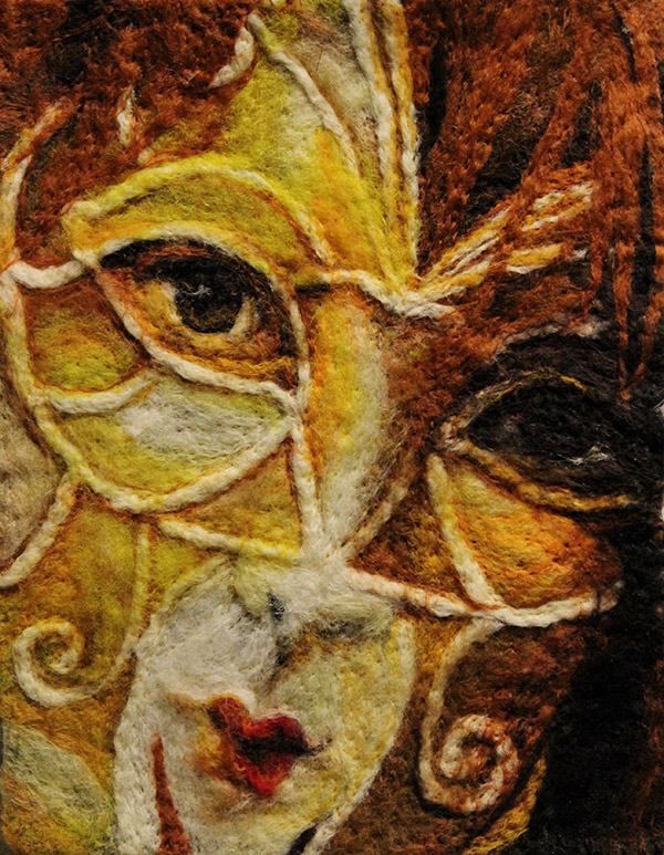 Masked Self Portrait