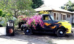 Truck by local artist, Gregorio, Hanapepe