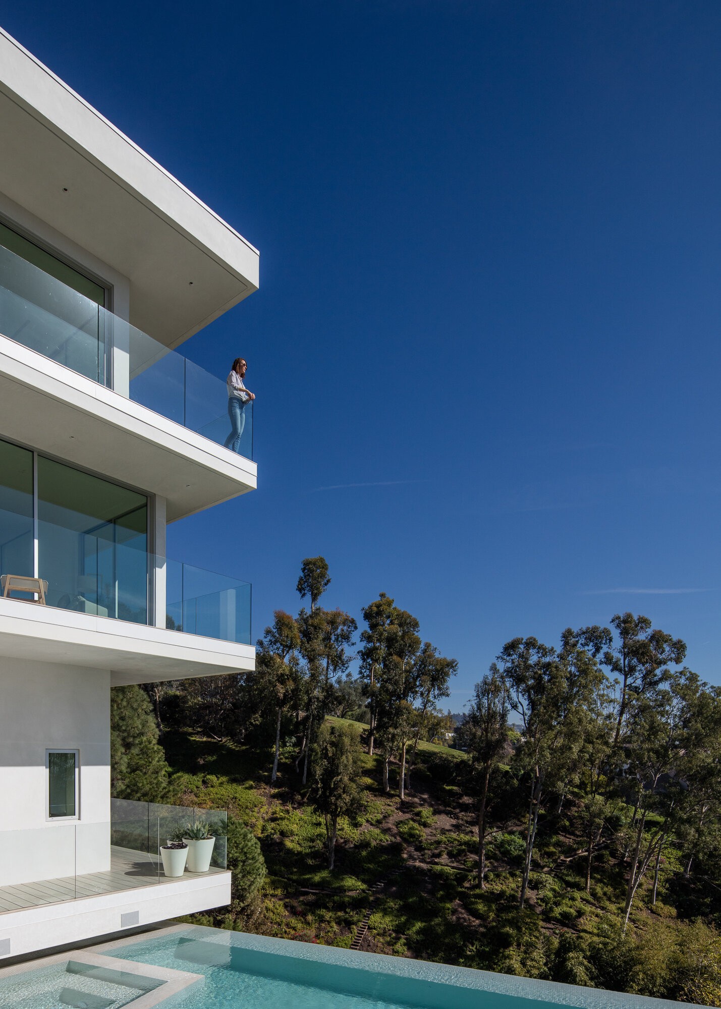 Minimal House One, Beverly Hills, California | Purchased. Designed. Built. Sold  Photo by  Mike Kelley