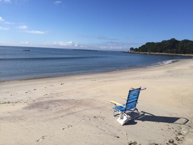 September beach day.