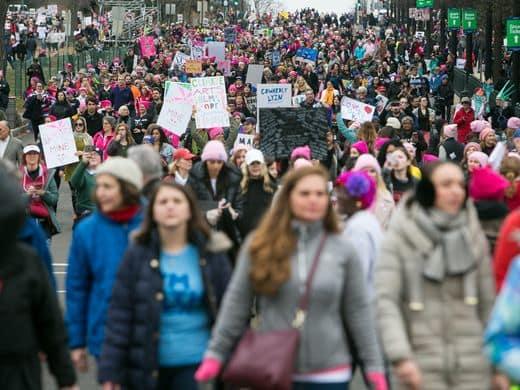 women's march on washington photo: suchat pederson, usa today