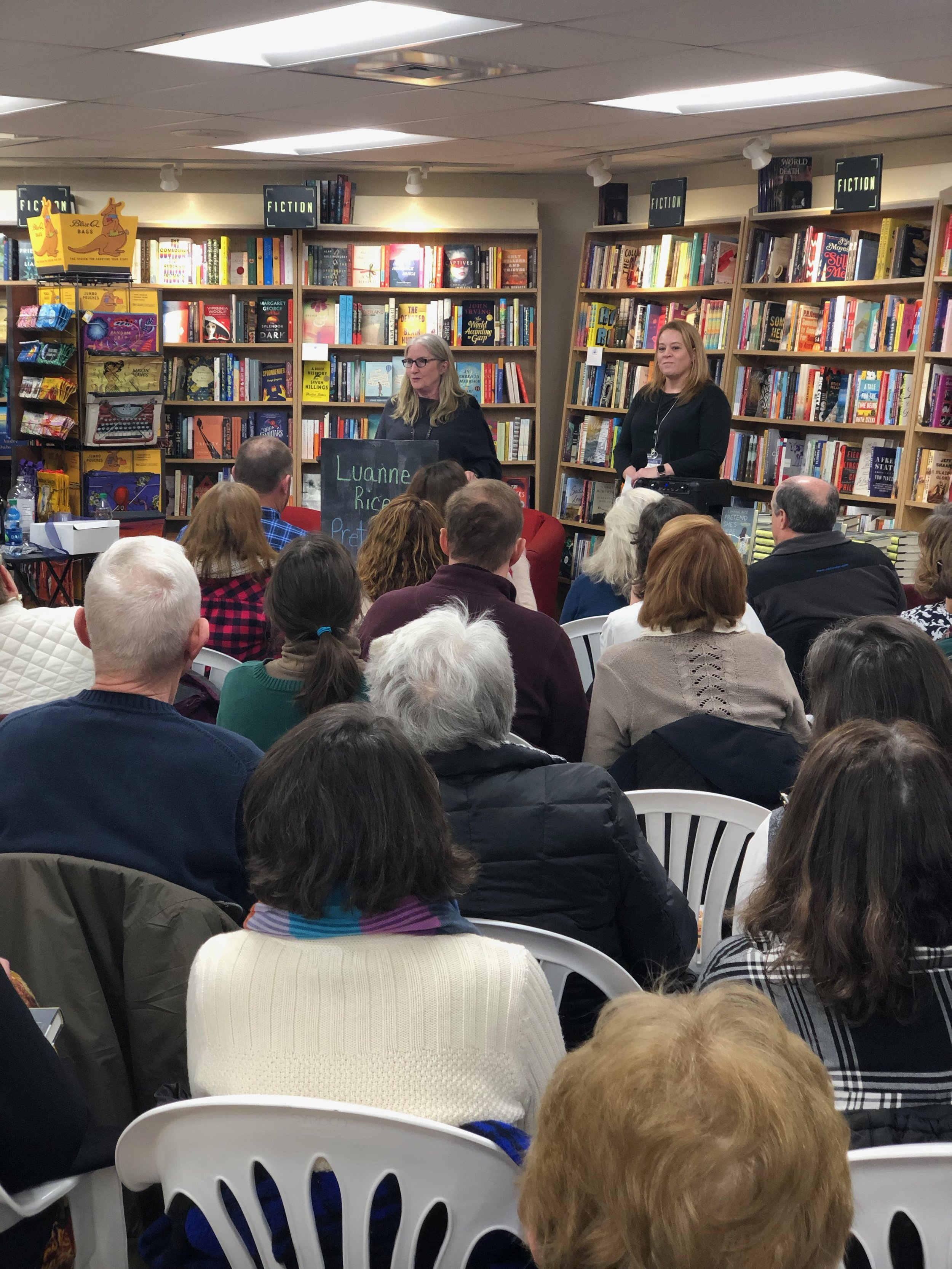 thank you to bank square books for a great night, and for lovely bookseller cathleen clifford for introducing me!