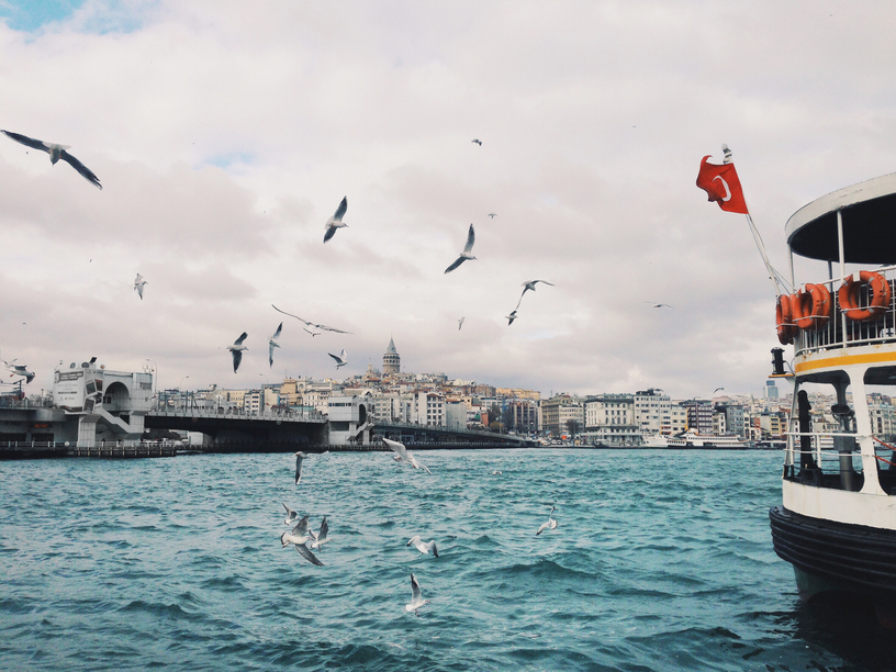 On the Bosphorus in Istanbul, Turkey. Photo by Jared Harrell