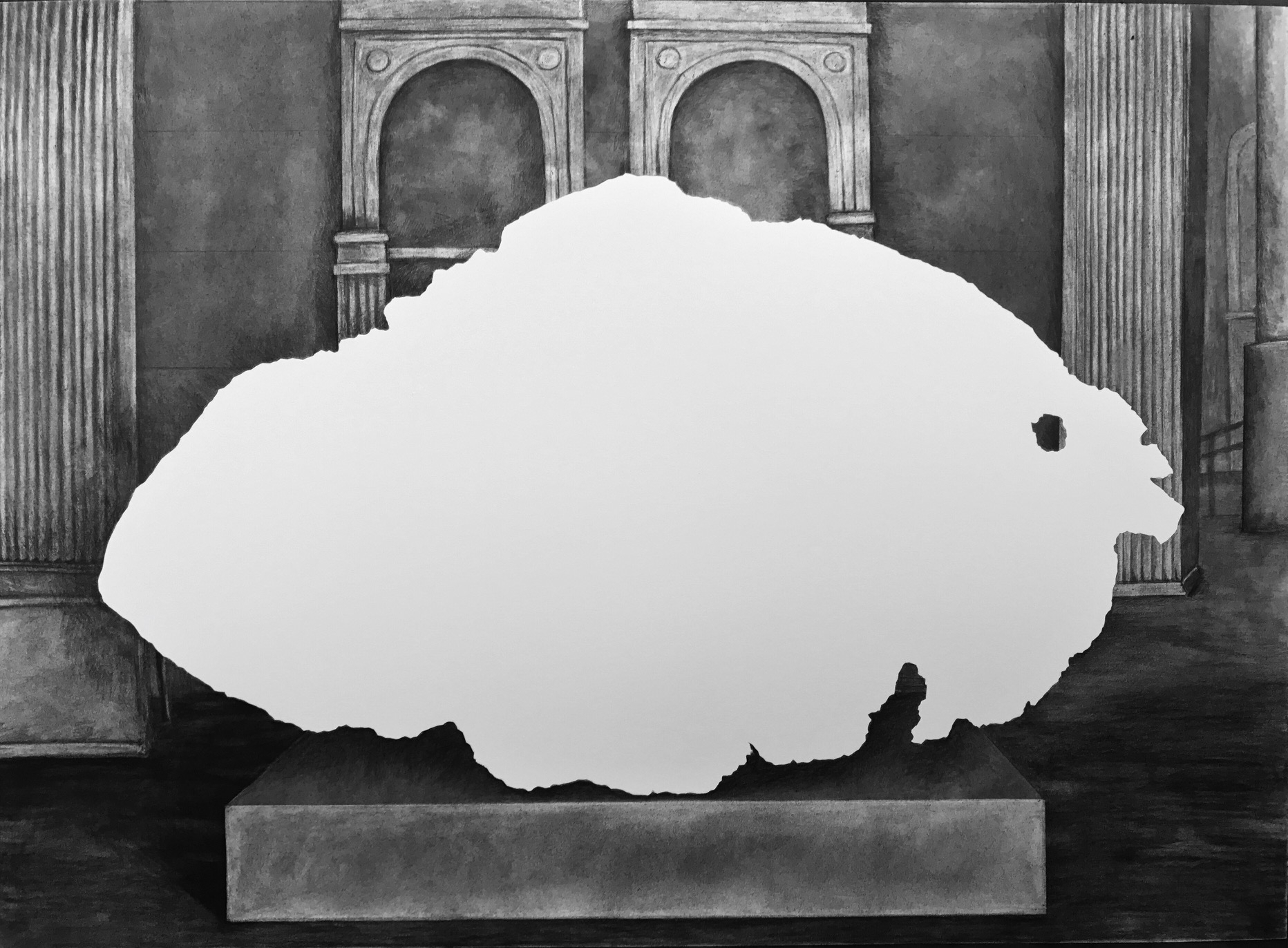 Tomanowos (Willamette Meteorite), display at the American Museum of Natural History, 1906, rejected NAGPRA claim